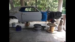 Mustang 1970 hardtop coupe restoration Part. 1