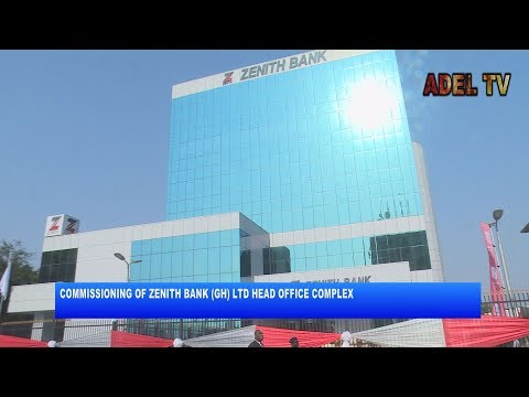 PRESIDENT COMMISSIONS' ZENITH BANK (GHANA) HEAD OFFICE COMPLEX_AKM