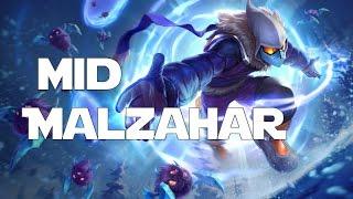 League of Legends - Snow Day Malzahar Mid
