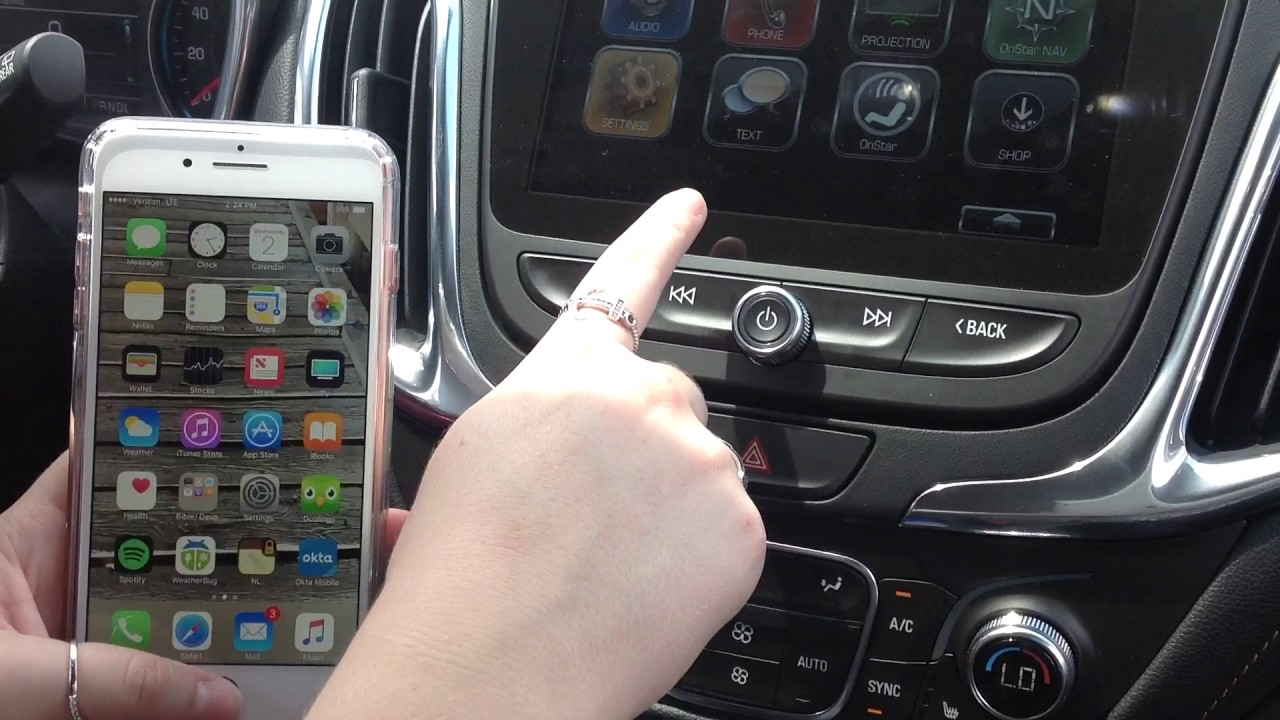 How To: Pair Phone to the 2018 Chevy Equinox Indianapolis ...