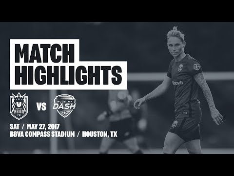 Highlights: Seattle Reign FC at Houston Dash // May 27, 2017