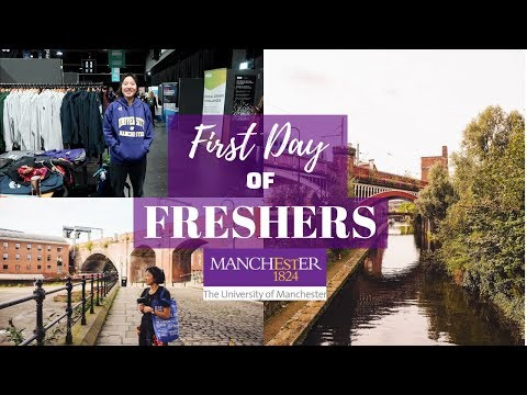 First Day Of Freshers || Exchange At University Of Manchester