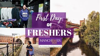 First Day of Freshers | University of Manchester