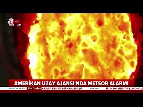 NASA'dan Göktaşı Alarmı! / A Haber