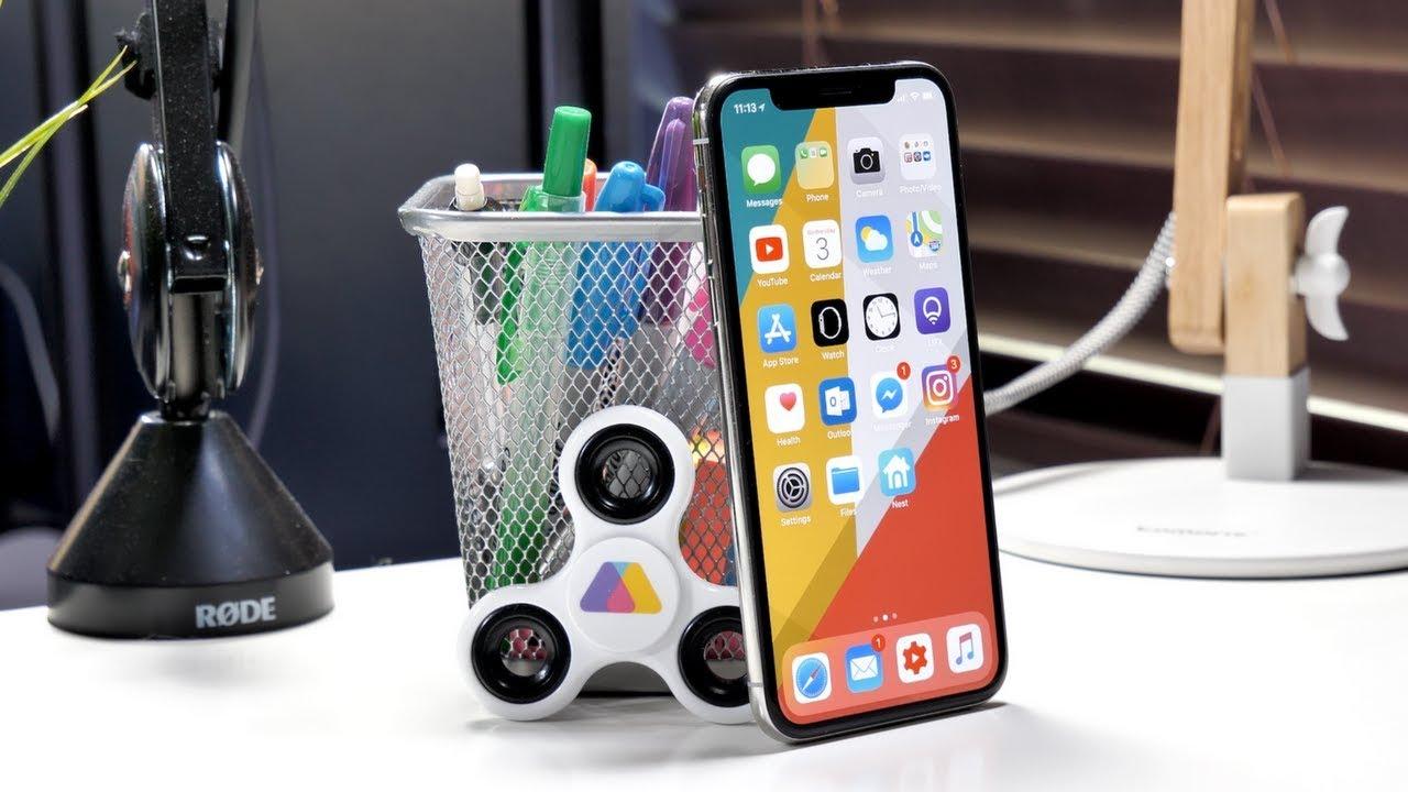 Обои На Айфон X Часы