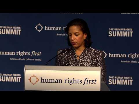 Susan Rice Speech at Human Rights First Summit 2013