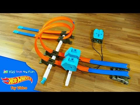 Hot Wheels Power Booster Kit Track Builder System - Hot Wheels Toys - Kid Toys Are Fun