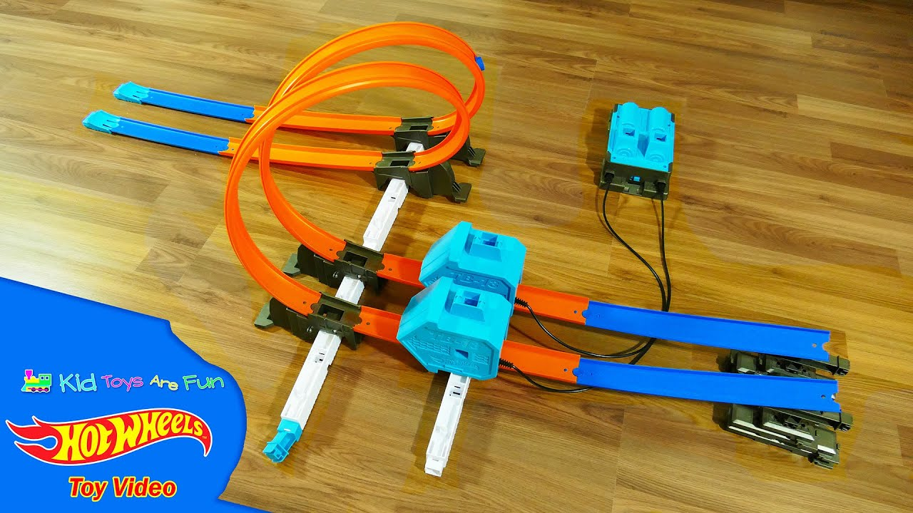 Amazon. Com: hot wheels track builder essentials launch pack: toys & games. The hot wheels track builder system offers the ultimate track experience for boys by allowing them to design, create & customize their very own track challenge. Nice price and my grandson loves it, just have to buy more tracks now.