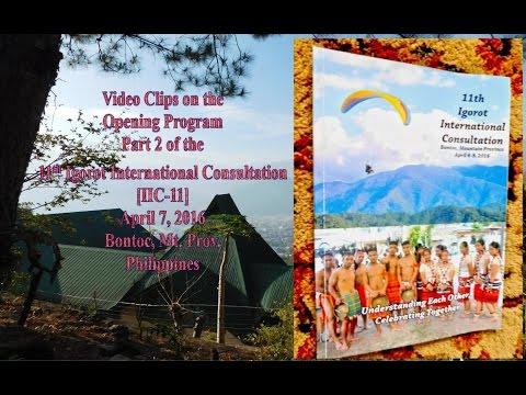 IIC 11 Opening Ceremonies   Part 2