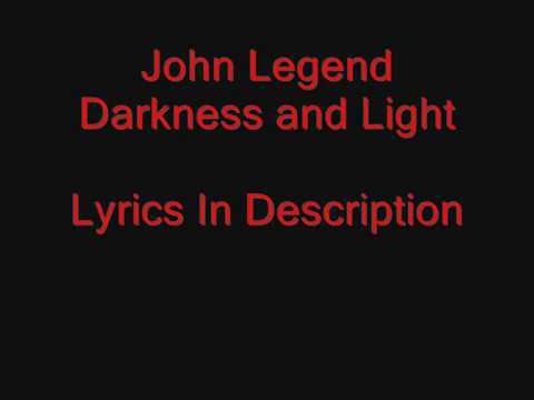 Download John Legend - Darkness and Light