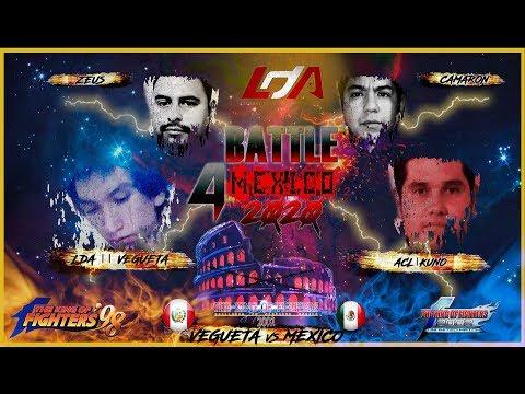 Battle 4 Mexico 2020 KOF 2002: ACL    Kuno VS. LDA    Vegueta (PER) FT30