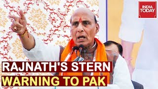 """Stop Terror Or Face Disintegration"" Defence Minister Rajnath Singh's Stern Warning To Pak"