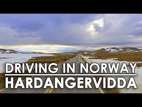 Driving in Norway: Hardangervidda