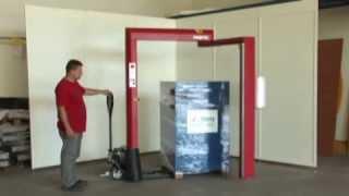 Grotec RDL 1800 - Mobil streç sarma makinesi