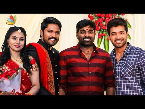 Vijay Sethupathi, Arun Vijay At Soundararaja, Tamanna Wedding Reception | Priya Bhavani, Sayesha