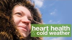 How to keep blood pressure down in cold weather