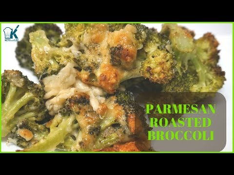 Parmesan Roasted Broccoli EASY MEAL EASY SIDE DISH LOW CARB & KETO ALL THE WAY!