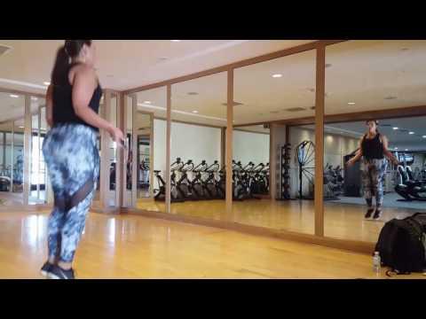 Super model Ashley Graham Workout
