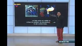 Conversación entre Leopoldo López y Daniel Ceballos sobre marcha del 30 mayo 2015