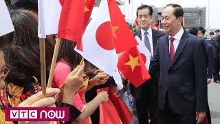 Chủ tịch nước Trần Đại Quang thăm Nhật Bản | VTC1