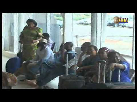 Passengers Stranded At Benin Airport Following Disappointment By An Airline Company