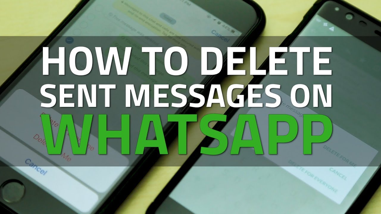 Download How To Delete Sent Messages on WhatsApp