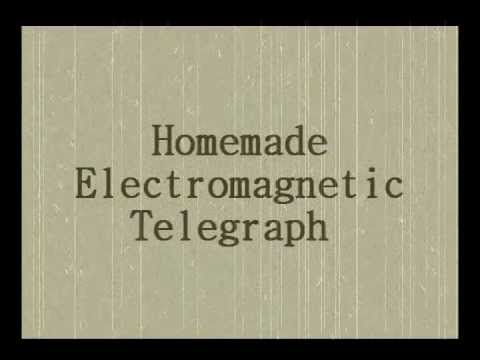 PHY146 Homemade Electromagnetic Telegraph