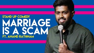 Not Ready for Marriage | Stand up comedy by Anand Rathnam Video