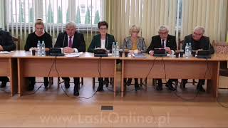 II sesja Rady Miejskiej w Łasku cz.2
