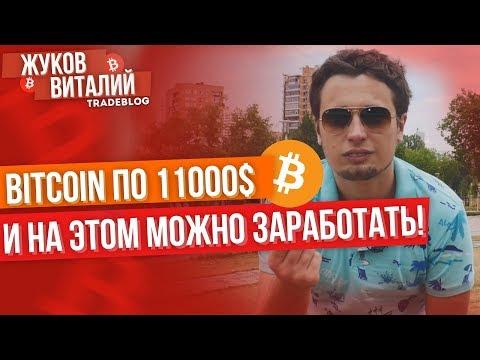 ???? БИТКОИН ПО 11000$ ???? И на этом можно отлично заработать!!!! Анализ прогноз bitcoin и альткоин