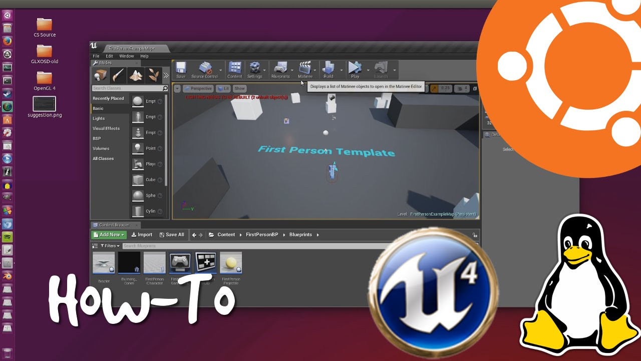 unreal engine 4 download ubuntu
