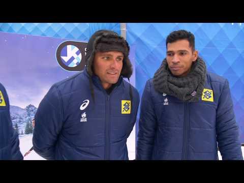 Team Brasil   Snow Volleyball European Tour 2019, Moscow