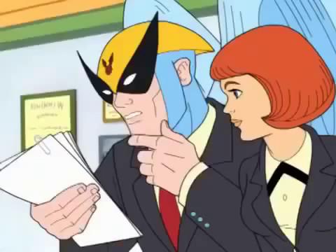 Harvey Birdman Attorney At Law: Birdgirl