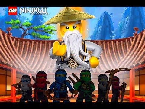 Мультфильм игры ниндзяго