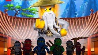 видео Игры лего ниндзя го