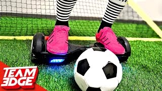 Repeat youtube video HoverBoard Soccer Challenge!!