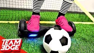 HoverBoard Soccer Challenge!!