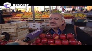 """Bakının məşhur """"8-ci kilometr"""" bazarında DAVA"""