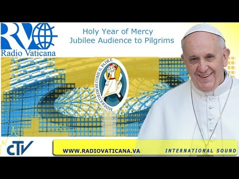 Pope Francis' Jubilee Audience 2016.09.10
