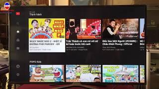 Hướng dẫn Sửa lỗi không vào được youtube bằng cách cài đặt mạng internet với tivi sam sung 2018