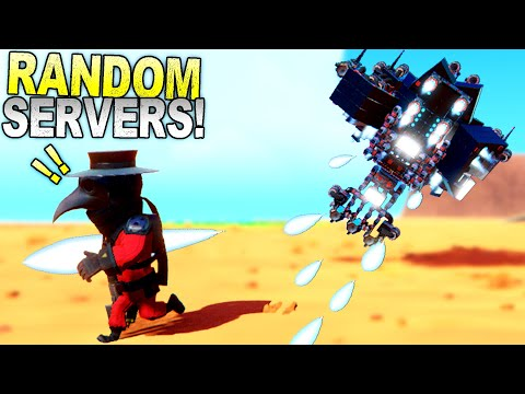 I Joined Random Servers and Was Hunted By A Drone Pilot! - Trailmakers Gameplay  