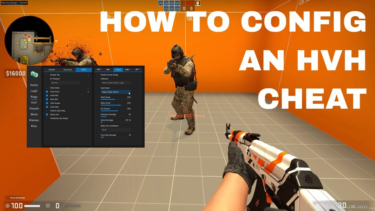 How To Config A CSGO HvH Cheat Part 2