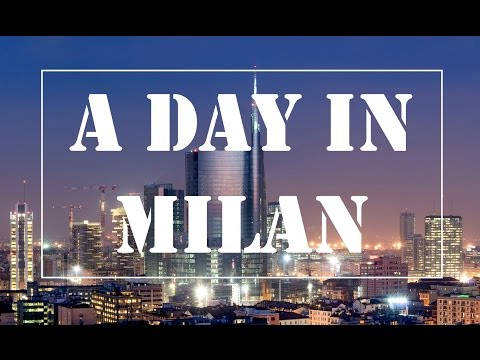 Milan: Piazza di Duomo, financial district on via Brera , UniCredit Tower, EXPO 2015 Gate and more