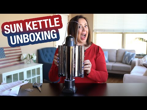 Unboxing the Sun Kettle | Boil Water Without Fuel or Flames ☀️