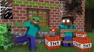 Monster School SEASON 2 ALL EPISODES Minecraft Animation Movie