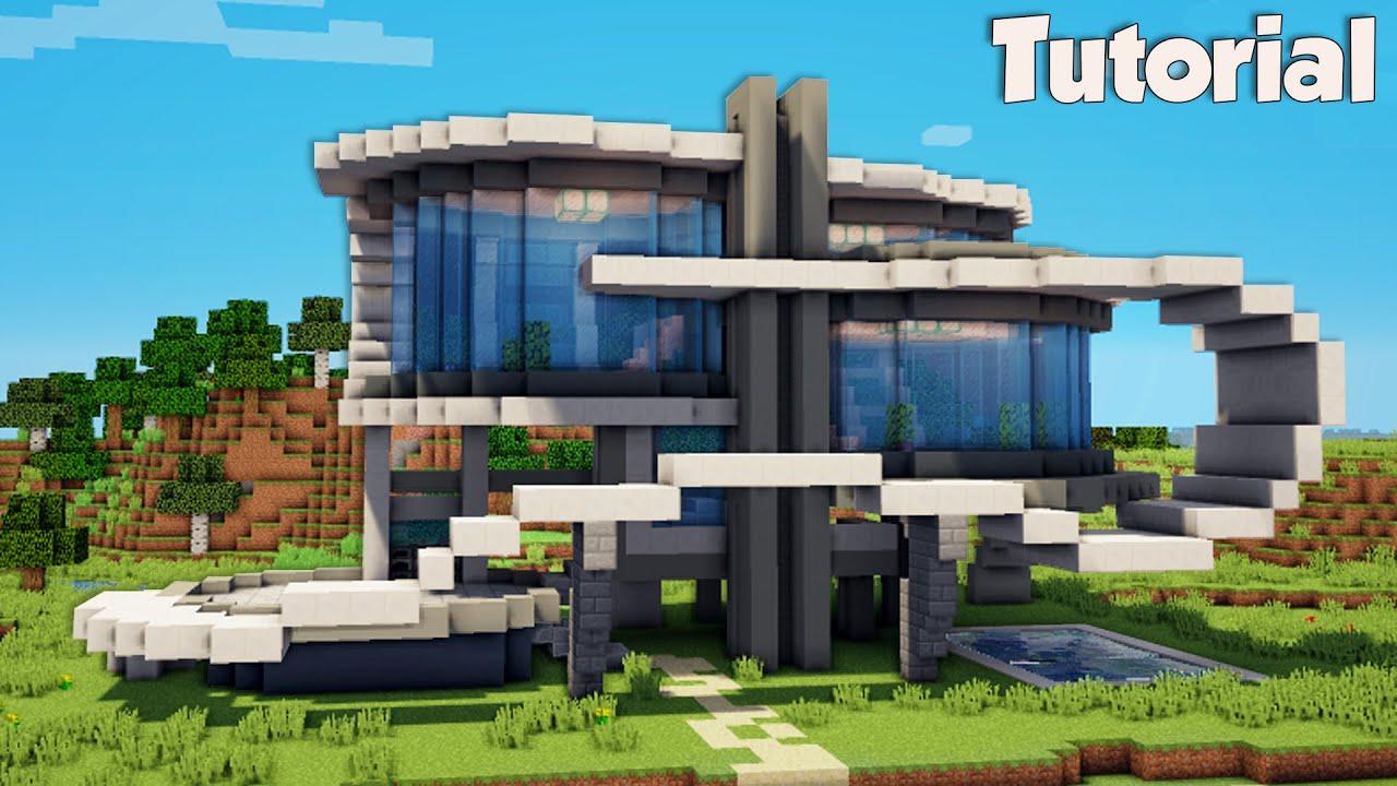 Minecraft: How to Build a Modern Beach House Tutorial