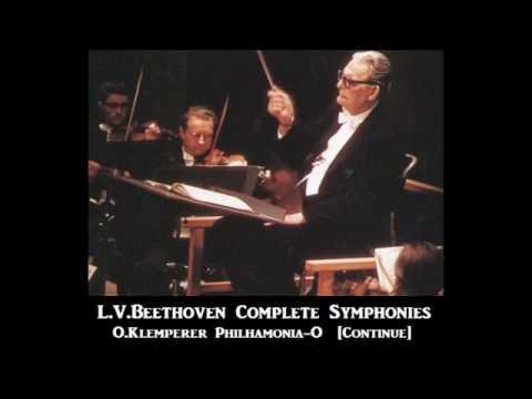 L.V.Beethoven Complete Symphonies [ O.Klemperer Philharmonia-O ] (1957~60)