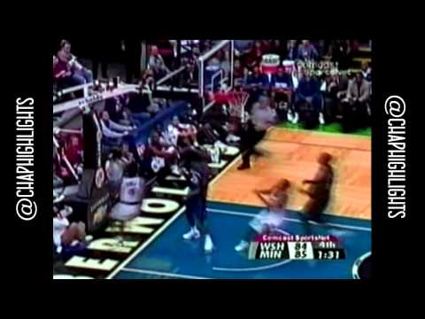 Throwback: Kendall Gill Full Highlights 2002.11.05 vs Wizards - 22 Pts.