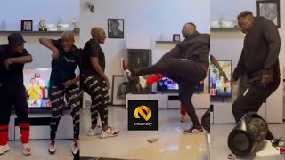 Medikal & Fella Makafui Replies Critics With Some Crazy Dance Moves