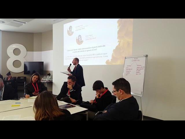 REPORT BACK PEOPLE & TALENTDEVELOPMENT Andrea Langfelder ORACLE ITALIA